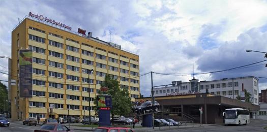 Здание отеля Kungla, построенное в 1969 году.