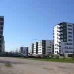 Муниципальные дома на улице Меэлику в Таллине. Фото Виталия Фактулина.