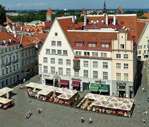 Дом на Мюнди 3 на Ратушной площади в Таллине, или т.н. дом  Егорова.