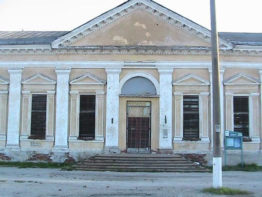 Железнодорожный вокзал в Йыхви.