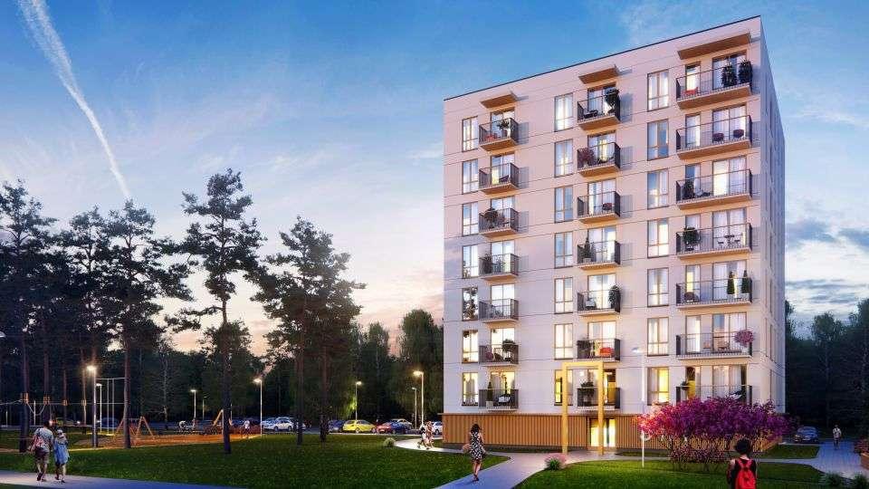 Так будут выглядеть дома в новом микрорайоне Мустамяэ. Автор фото: Hepsor OÜ