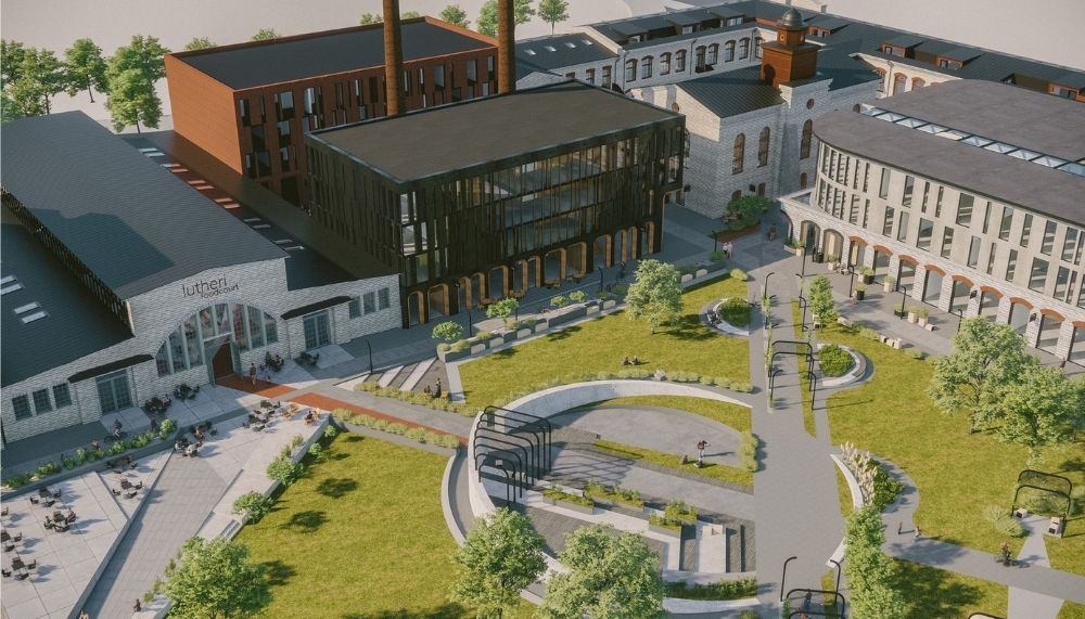 Таким будет квартал Лютера. Автор фото: Triple Net Capital